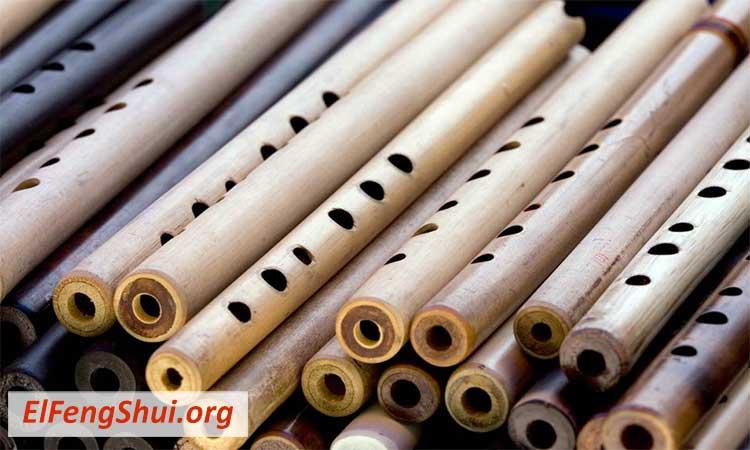 Flautas de Bambú Feng Shui