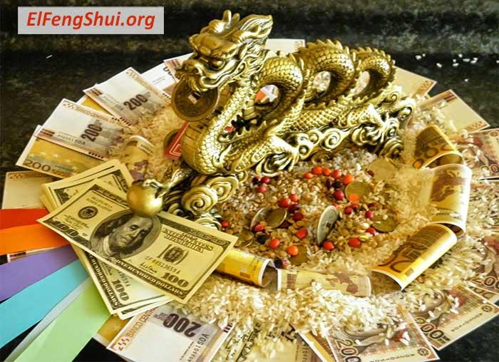 El Area del dinero Feng Shui