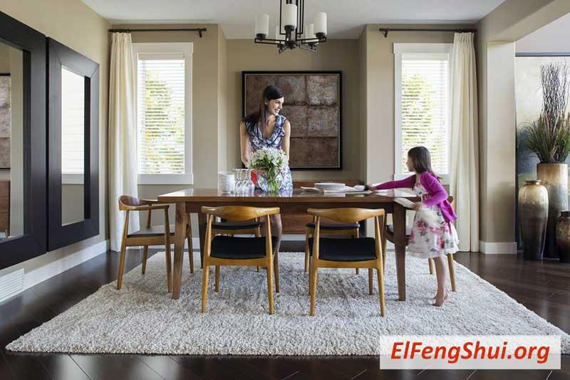 22 Consejos para un Buen Feng Shui en la Sala Comedor