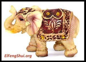 Que representan y como se usan los Elefantes en el feng shui?
