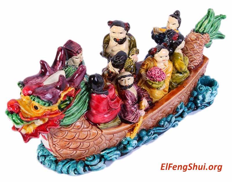 Los 8 Inmortales Feng Shui