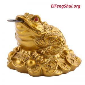 El Sapo o Rana de La Riqueza Feng Shui (Significado y Donde Colocarlo)
