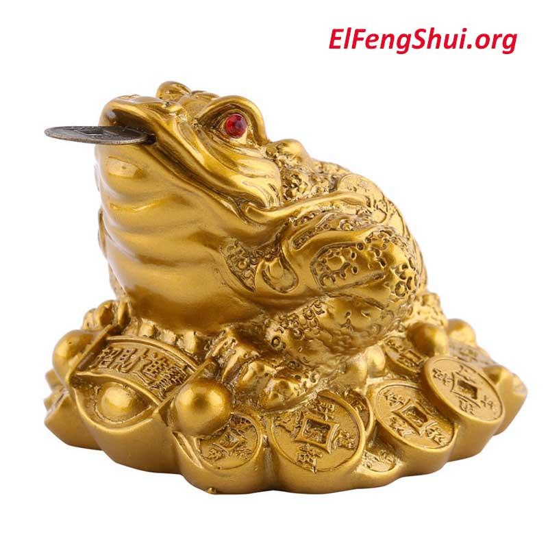 Rana de La Riqueza Feng Shui