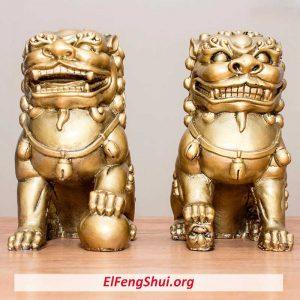 ¿Como se Utilizan los Perros Fu en el Feng shui y Para Que Sirven?